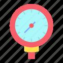 gauge, pressure, meter, gas