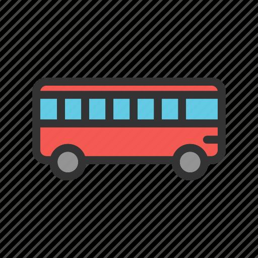 auto, bus, coach, passenger, transport, travel, vehicle icon
