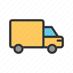 cargo, commercial, delivery, logistics, transport, truck icon