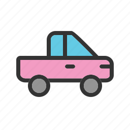 auto, jeep, luxury, pickup, power, vehicle, wheel icon