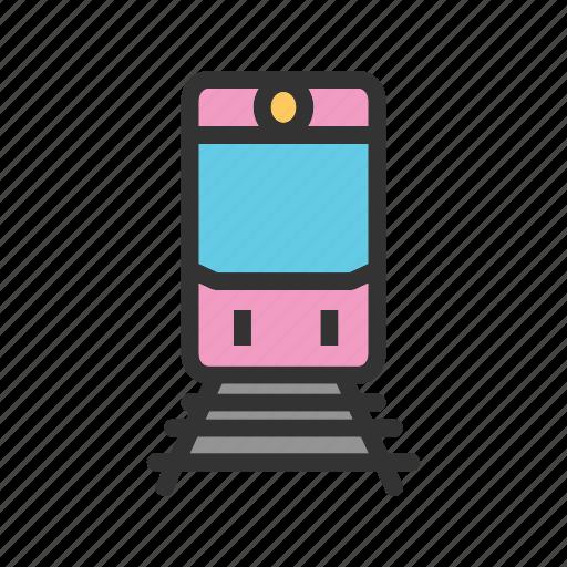 locomotive, railway, speed, steam, train, transport, travel icon
