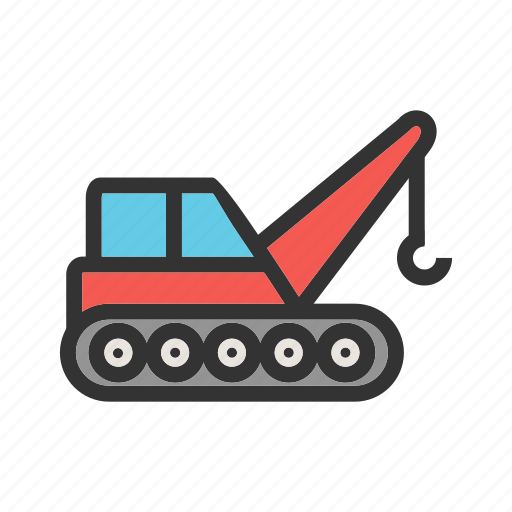 factory, fork, freight, lift, lifter, shipment, truck icon