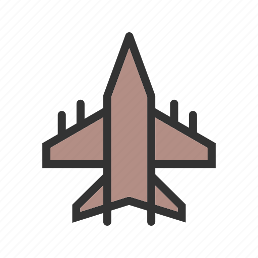 fighter, high, jet, military, plane, sky, speed icon