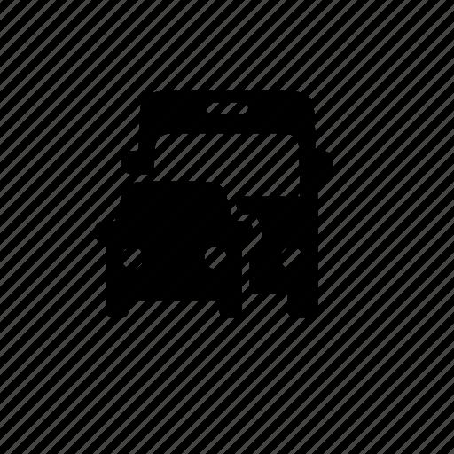 bus, car, travel, vehicle icon
