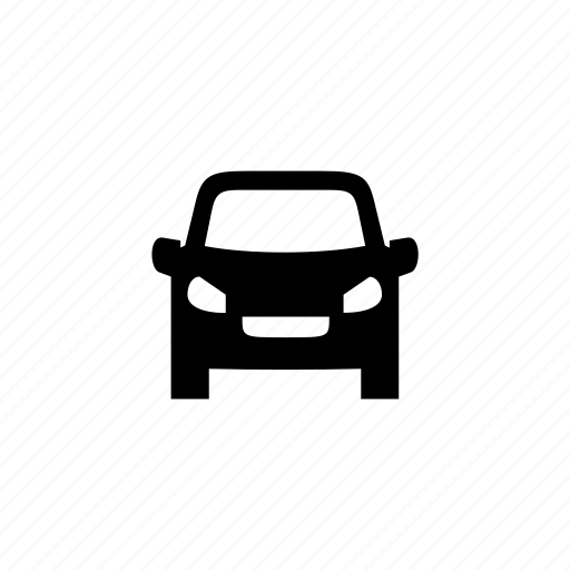 car, front, travel, vehicle icon