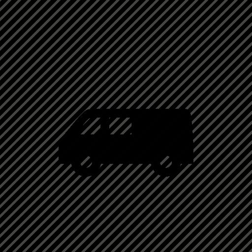 car, side, travel, van, vehicle icon