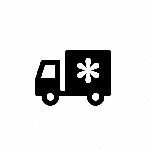 car, refridgerated, side, travel, truck, vehicle icon