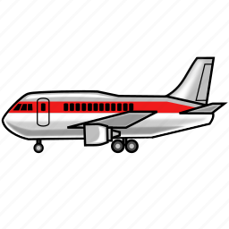 airplane, flight, fly, plane, shipping, travel, vacatioin icon