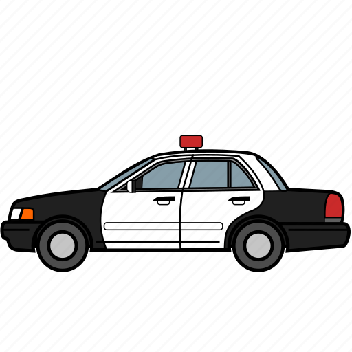 car, emergency, police, security, vehicle icon