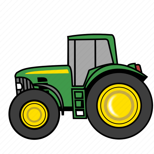 agriculture, farm, tractor, truck, vehicle icon
