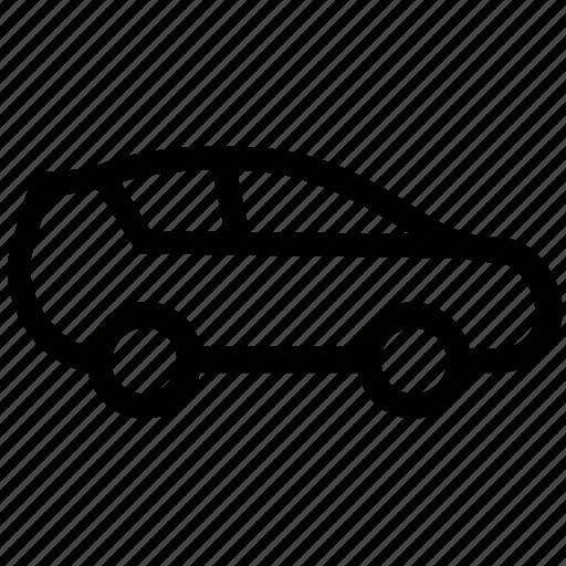 automobile, car, hatchback, luxury, luxury vehicle, transportation, vehicle icon