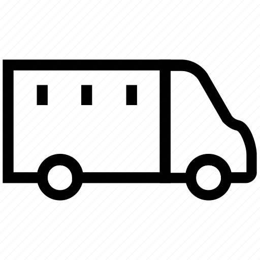 cargo, cargo vehicle, delivery truck, goods transport, lorry, shipping truck, transportation icon