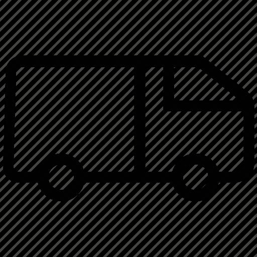 goods transport, shipping, transport, transportation, travel, truck, van poultry van icon