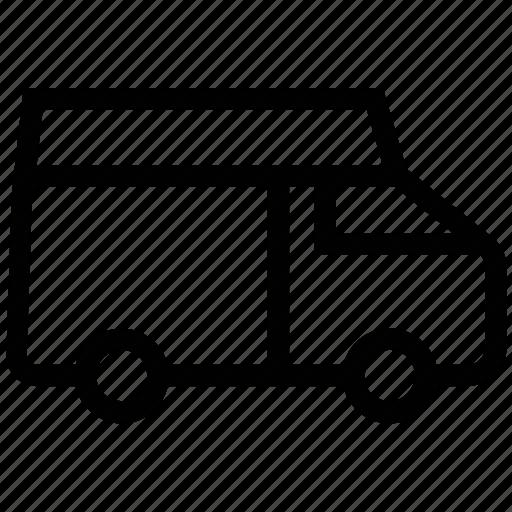 goods transport, poultry van, shipping, transport, transportation, travel, truck, van icon