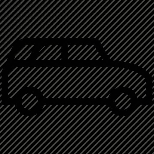 coupe, hatchback, sedan, station wagon icon