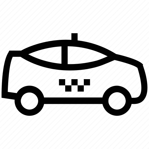 automobile, cab, car, cops car, police, police car icon