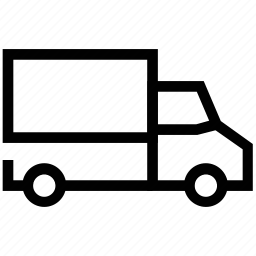 cargo, cargo vehicle, delivery truck, lorry, shipping truck, vehicle icon