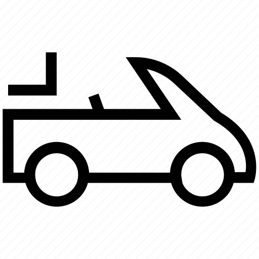 auto car, automobile, ferrari, hatchback, open roof car, roofless car, sport car icon