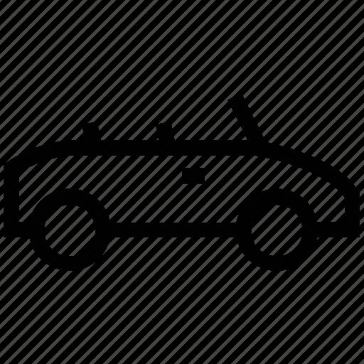 auto car, automobile, ferrari, hatchback, open roof car, sport car, two door car icon