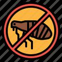 bug, flea, healthcare, medical, parasite icon