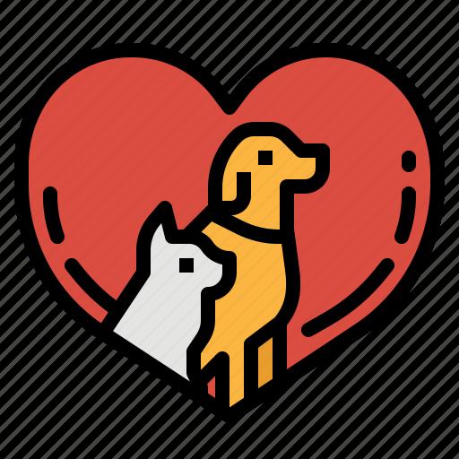 care, cat, dog, health, pet icon