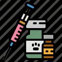 animal, animals, injection, vaccine, veterinarian