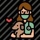 avatar, doctor, dog, job, veterinarian icon