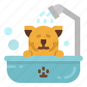 bath, beauty, pet, salon, shower icon