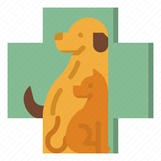 healthcare, medical, pet, sign, veterinary icon