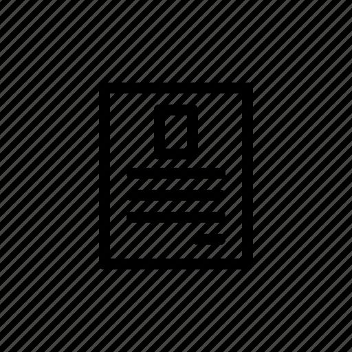 letter, memo, note, paper icon