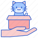 adoption, cat, foster, kitty, pussy, pussycat icon