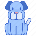 dog, doggy, pup, puppy, woof icon