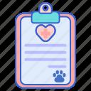 diagnose, diagnosis, diagnostics, health, health report, report icon