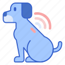 gps, microchip, pet, pet gps, pet microchip icon