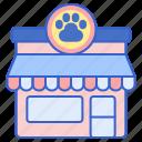 pet, store, pet store, pet supplies icon