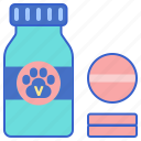pet, pet supplement, pet vitamin, pet vitamins, vitamins icon