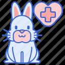 rabbit, vet icon