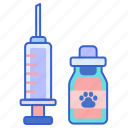 vaccine, pet vaccine, vaccination, pet vaccination, syringe, injection