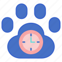 hours, vet, business hours, vet hours icon