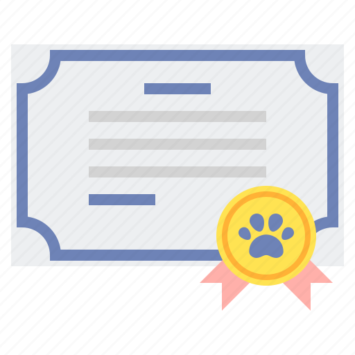 badge, certificate, certification icon