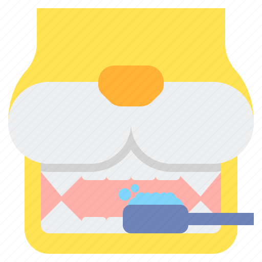 cleaning, dental, pet icon