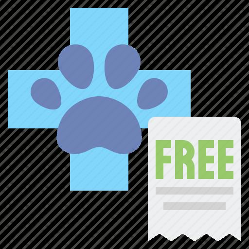 care, free, veterinary icon