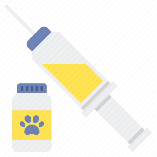 injection, syringe, vaccine icon