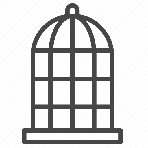 Cage, captive, constrain, imprison, prisoner, pet icon - Download on Iconfinder