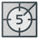 begining, count, countdown, cut, time, timer icon