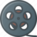 film, movie, retro, roll, strip icon
