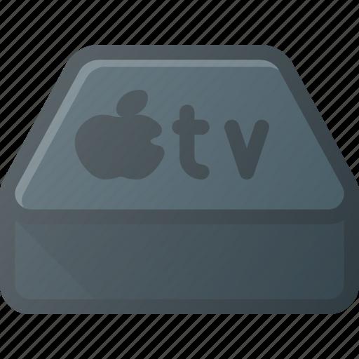 apple, device, television, tv icon