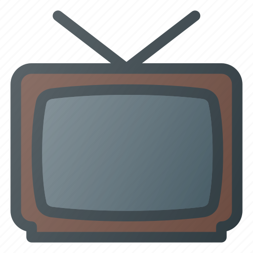 Old, retro, television, tv, vintage icon - Download on Iconfinder