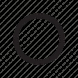 circle, movie, music, record, sound, video, voice icon
