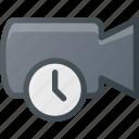 movie, timer, record, camera, cam, time, film icon